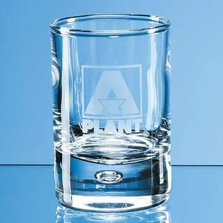60ml Bubble Base Tot Glass