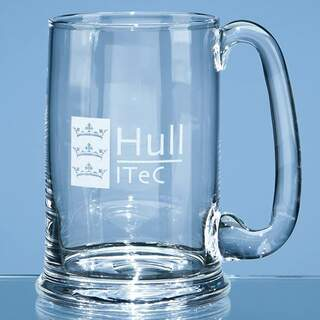 0.6ltr Dartington Crystal Real Ale Tankard